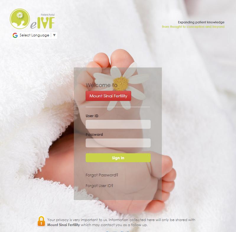 Electronic Medical Record - Mount Sinai Fertility Mount